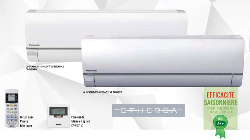 Climatisation Panasonic Etherea