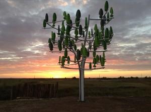 Solution de demain, l'arbre à vent
