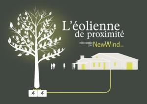 Arbre à Vent, éolienne de proximité