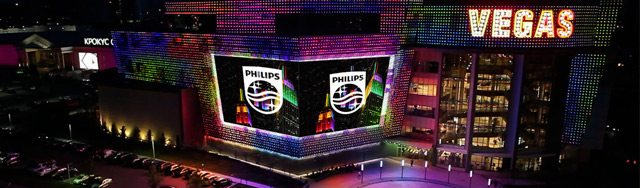 Philips recrée Time Square en Russie