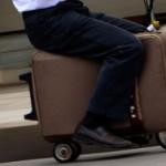 Invention, le scooter électrique format valise
