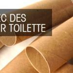 10 idées brico avec des rouleaux de papier toilette
