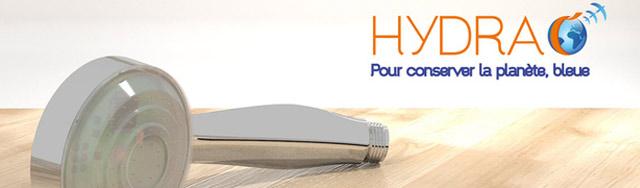 Hydrao, la douche intelligente et écologique