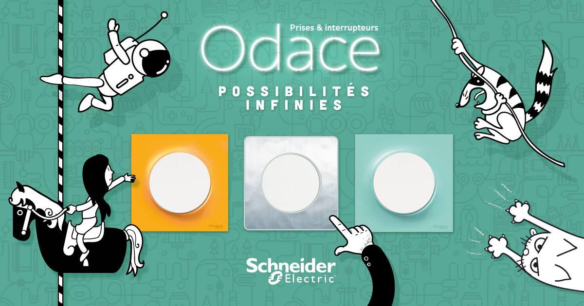 Appareillage Odace Schneider