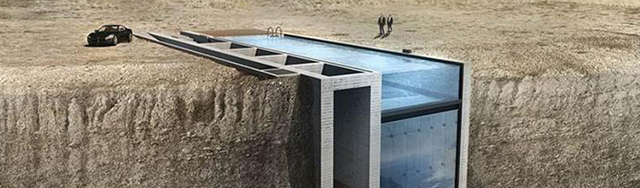 [INSOLITE] La Casa Brutale, une maison dans la falaise