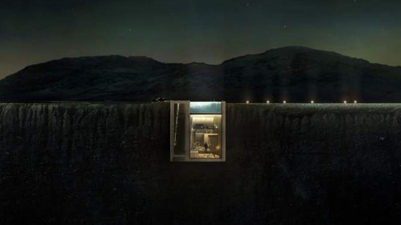 Insolite la casa brutale une maison dans la falaise for Assainir une maison