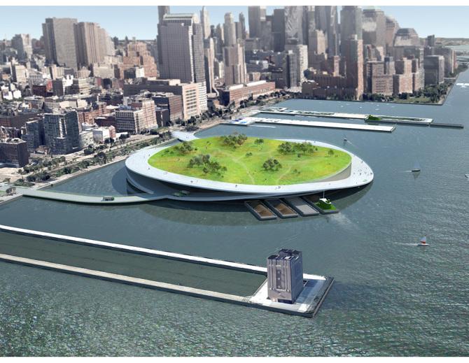 Vue générale projet Green Loop