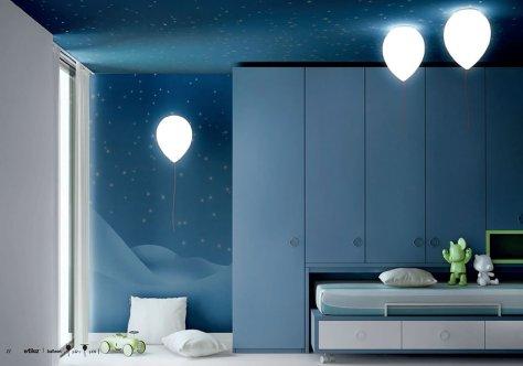 Lampe insolite ballon