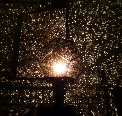 Lampe insolite boule