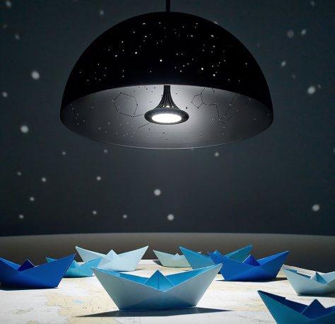Lampe insolite plafonnier
