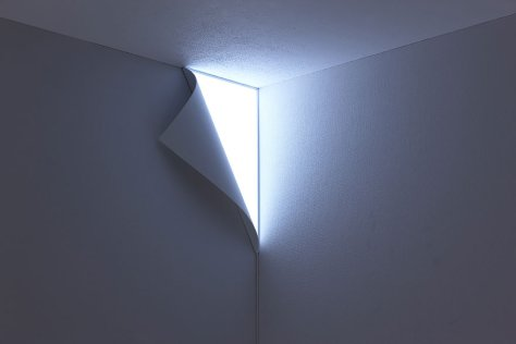 Lampe insolite murale