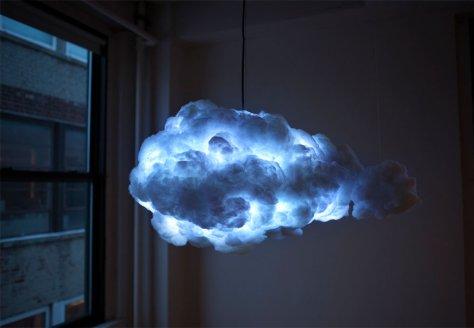 Lampe insolite nuage