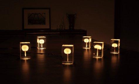 Lampe insolite cube 2