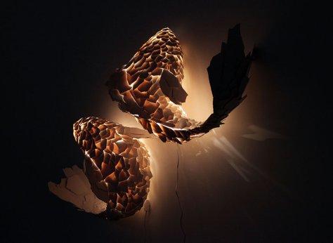 Lampe insolite poisson